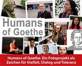 Bild: Ausstellung Humans of Goethe - Ein Fotoprojekt als Zeichen für Vielfalt, Dialog und Toleranz - Ausstellung 31.August -30.September 2017