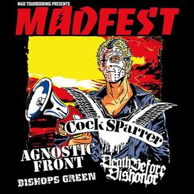 Bild: MAD FEST 2017 - feat. COCK SPARRER, AGNOSTIC FRONT, DEATH BEFORE DISHONOR, BISHOPS GREEN and many more..