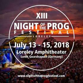13. Night of the Prog Festival 2018 - Festivalticket I 3 Tage I 3 Days I 13.07.-15.07.2018