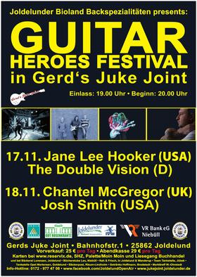 Bild: Guitar Heroes Festival - Bluesrock vom Feinsten in urigem Ambiente