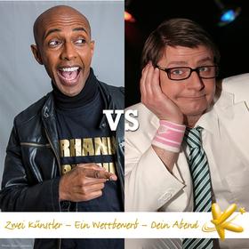 Bild: Kabarett Bundesliga - Berhane Berhane vs. Volker Diefes