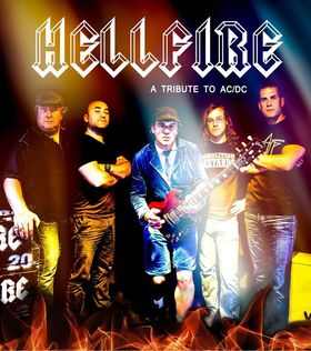 Bild: HELLFIRE   (A tribute to AC/DC) - Support: THE BIG ONES (A tribute to Aerosmith)