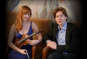 Bild: Duo Ludmila Pavlová -Violine, Stanislav Gallin - Klavier - Kammermusik