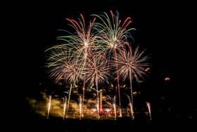 Bild: Pyronale - Feuerwerk-World-Championat 2018