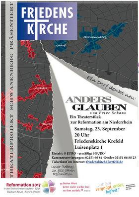 Bild: Anders glauben - ein Theaterstück zur Reformation am Niederrhein