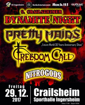 "Bild: 9. Crailsheimer Dynamite Night - Pretty Maids ""Future World 30 Years Anniversary Show"""