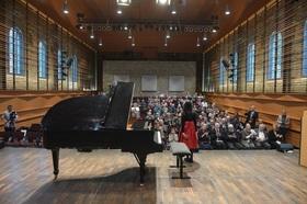 Bild: Preisträgerkonzert des 10. Nationalen Bach-Wettbewerb für junge Pianisten in Köthen