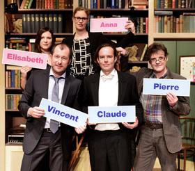 Bild: Der Vorname - Mit Martin Lindow, Julia Hansen, Benjamin Kernen, Anne Weinknecht u. a.