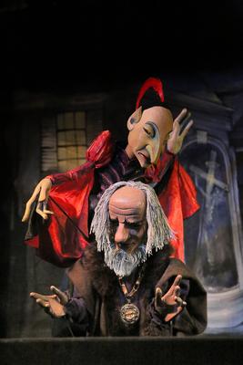 Bild: Hohenloher Figurentheater: Faust