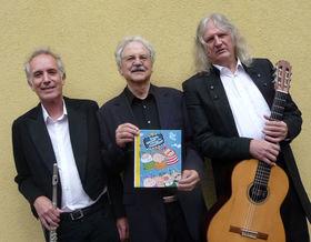 Bild: Paul Maar mit Wolfgang Stute und Konrad Haas - Schiefe Märchen und schräge Geschichten