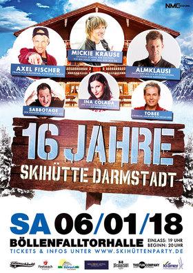 Bild: 16 Jahre Skihütte Darmstadt: 90er Revival & Skihütten Jubiläum
