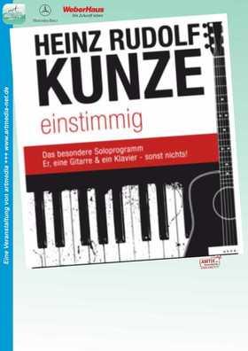 Bild: Heinz Rudolf Kunze - Einstimmig