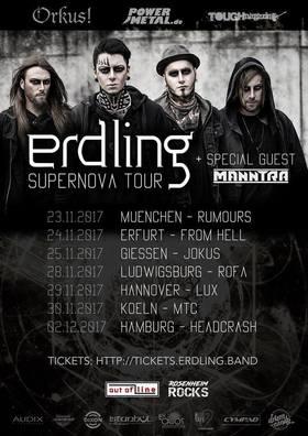 Bild: Erdling - Supernova Tour