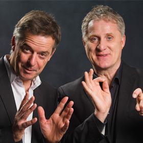 Bild: Bernd Kohlhepp und Uli Boettcher - …denn sie wissen (noch) nicht, was sie tun… - Das Impro-Duell