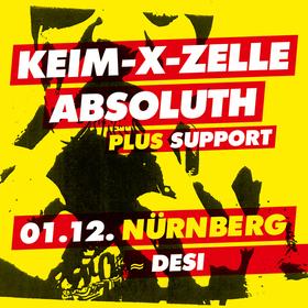 Bild: Keim-X-Zelle & Absoluth - Keim-X-Zelle, Absoluth und Support