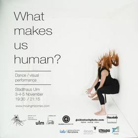 Bild: What makes us human? - Tanz/visuell Performance