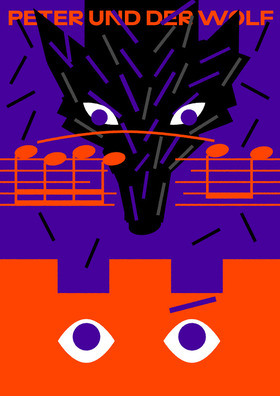 Bild: Peter und der Wolf - Musiktheater