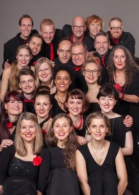Bild: Jazzchor Freiburg - Sangeslust- Das Sparkassen A Cappella Event