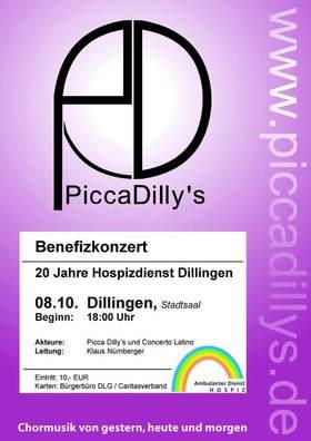 Bild: Benefizkonzert 20 Jahre Hospizdienst Dillingen - mit Picca Dillys und Concerto Latino