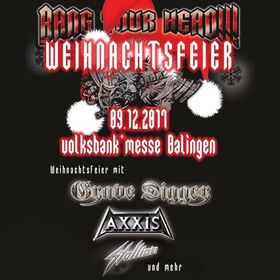 Bild: BANG YOUR HEAD!!! Weihnachtsfeier 2017 - Grave Digger, Axxis, Stallion u.v.a.