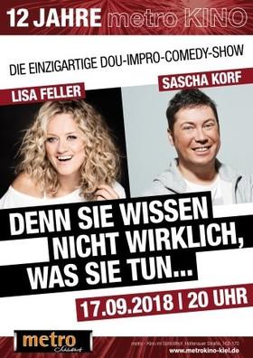 LISA FELLER & SASCHA KORF - Denn Sie Wissen nicht wirklich, was sie tun