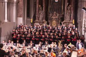 Bild: Benefizkonzert zu Gunsten der Innenrenovierung der Asamkirche Aldersbach - Giuseppe Verdi: Messa da Requiem