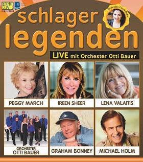 Bild: Schlagerlegenden LIVE auf Tournee - mit Peggy March, Ireen Sheer, Lena Valaitis, Michael Holm, Graham Bonney, Orchester Otti Bauer