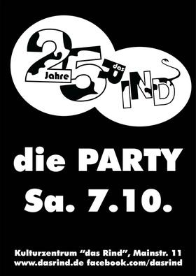 25 Jahre das Rind – die Party