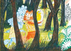 Bild: Nele Palmtag: Durch den Wald - Wilder Freitag als Leseabenteuer (ab 5 Jahren)