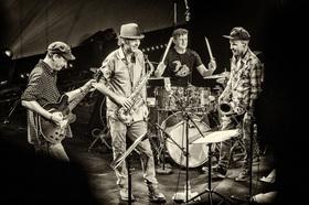 Bild: Human Feel - mit Chris Speed(sax), Andrew D´ Angelo(sax), Jim Black(dr), Kurt Rosenwinkel(g)
