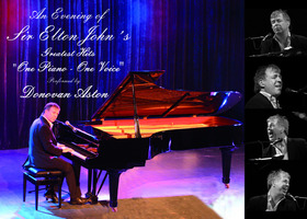 Bild: Donovan Aston - An Evening of Sir Elton John´s Greatest Hits