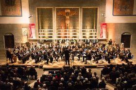 Bild: Aktion 100 000 Eröffnungskonzert der Stadtkapelle Ulm - From Russia with Love