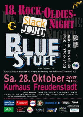 Bild: 18. Rock-Oldies-Night 2017 - mit Slackjoint und Blue Stuff