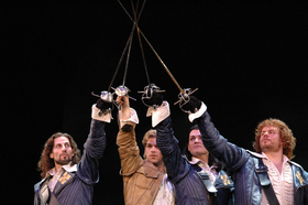Bild: Die drei Musketiere - Burgfestspiele Jagsthausen