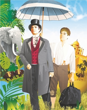 Bild: In 80 Tagen um die Welt - Familien-Musical nach Jules Verne