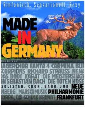 """Bild: Konzert mit der Neuen Philharmonie Frankfurt 2018 - Crossover-Konzert """"Made in Germany"""""""
