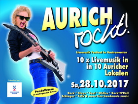 Bild: AURICH ROCKT! - Nacht der Bands in Aurich