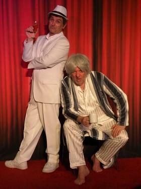Bild: Zwei Dickschädel auf dünnem Eis - ShowSpielhaus