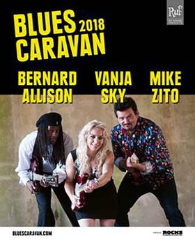Bild: Blues Caravan Tour 2018 - Mike Zito * Bernard Allison * Vanja Sky