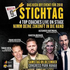 Bild: STICHTAG - Das Kickoff Event für 2018 - Mit den Star Trainern Frank Heister, Tobias Beck & Alexander Hartmann