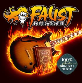 Bild: FAUST - DIE ROCKOPER - GOETHE-Texte, Live-Band & Sänger