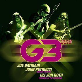 Bild: G3 Tour 2018 - JOE SATRIANI - JOHN PETRUCCI - ULI JON ROTH