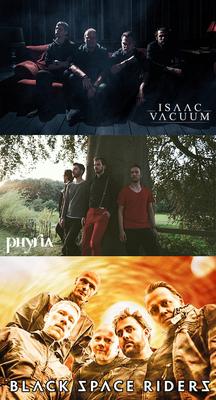 Bild: Isaac Vacuum + Black Space Riders + Phyria