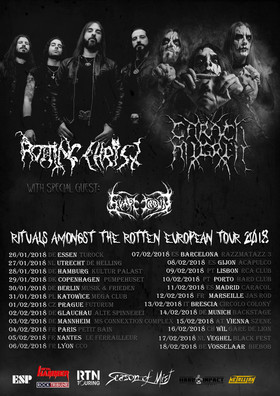 Rotting Christ & Carach Angren - Rituals Amongst the Rotten European Tour 2018