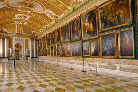 Bild: Wandeln in der Galerie des Königs - Spaziergang im Park Sanssouci