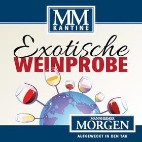 Bild: MM-Kantine - Exotische Weinprobe