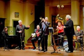 Bild: Red Hot Hottentots - - 300 Jahre Jazz-Erfahrung beim Frühschoppen -