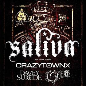 Bild: Saliva - Crazy Town | Davey Suicide  + support