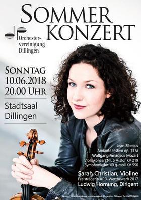 Bild: Orchestervereinigung Dillingen - Sommerkonzert