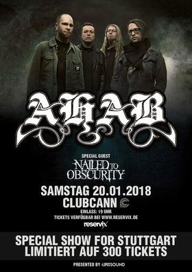 Bild: AHAB - Special Show For Stuttgart